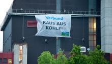 VERBUND Banner-Aktion (c) Christoph Liebentritt